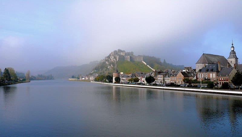 Vue de la Meuse et du fort de Charlemont